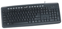 Keyboard Genius KB-M220, USB/Russian, Black