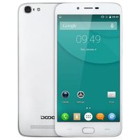 "Doogee Y200, 5.5"" 1280x720 8Mpix QuadCore 1.3GHz 2Gb 32Gb White"