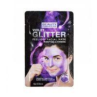 Beauty Formulas Violet Glitter Peel Off Facial Mask - Маска для лица