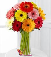 купить Букет из гербер цветочный микс в Кишинёве