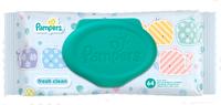 Pampers влажные салфетки Fresh Clean, 64шт