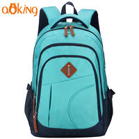 "Pюкзак Aoking X67201 для ноутбука 15.6"", водонепроницаемый,синий"