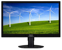 """24.0 """"Philips """"241B4LPYCB"""", Black (TN, 1920x1080, 5ms, 250cd, LED20M:1, DP, DVI, Spk, HAS/Pivot) (24.0"""", Black)"""