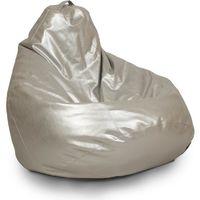 Fotoliu - sac Bean Bag, argintiu