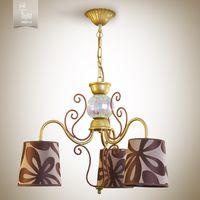 купить N&B Light Люстра Санта-Мария 14503-2 коричневый, золото/медь в Кишинёве
