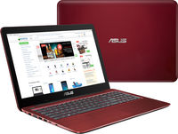 """NB ASUS 15.6"""" X541NA Red (Pentium N4200 4Gb 1Tb) 15.6"""" HD (1366x768) Non-glare, Intel Pentium N4200 (4x Core, 1.1GHz - 2.5GHz, 2Mb), 4Gb (OnBoard) PC3-12800, 1Tb 5400rpm, Intel HD Graphics, HDMI, No ODD, 100Mbit Ethernet, 802.11n, Bluetooth, 1x USB 3.1 Type C, 1x USB 3.0, 1x USB 2.0, Card Reader, Webcam, Endless OS, 3-cell 36 WHrs Li-Ion Battery, 2.0kg, Red"""