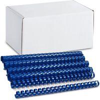 ARGO Пружина пластиковая ARGO A4/22мм, 50 штук, синяя