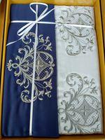 Сатиновое постельное белье Тиротекс (175*215/220*240/70*70)(модель 102-10639)