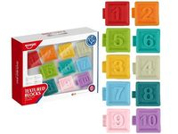 Set blocuri moi texturate Numere 10buc