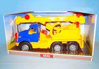 Машина Магирус кран  в коробке арт. 1524 (54х21х28)
