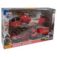 Игровой набор с вертолетом rescue