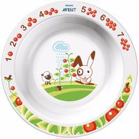 Avent SCF704/00-01 тарелка глубокая с рисунком(12+) 1шт.