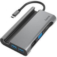 Переходник для IT Hama 200102 USB-C Multiport Adapter