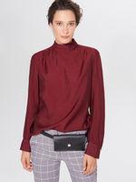 Блуза MOHITO Темно красный xf532-84x