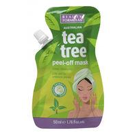 Beauty Formulas Tea Tree Peel-Off Mask - Маска-пленка для лица
