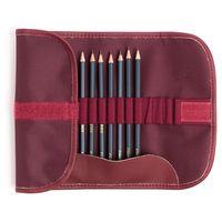 Set de creioane un ceronograf. Graf'Art MALEVICH, 8 buc., Răsucit, bordo