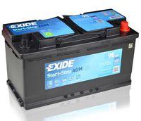 **АКБ Exide Start-Stop AGM 12V 95Ah 850EN 353x175x190 -/+, EK950