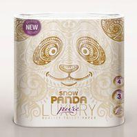PANDA Туалетная бумага LUXURY 3 слоя 4 рулона 20.8m Pure