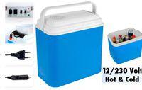 Сумка-холодильник пластик электрическая 24l, 12V/230V