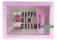 Benetton United Dreams Love Yourself EDT 80ml + Body Lotion 75ml