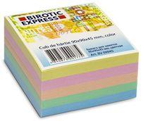 INTERDRUK Бумага для заметок BIROTIC Express 90x90x45мм, цветная