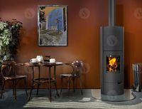 купить Каминная печь - ROMOTOP LUGO 03 AKUM листовой металл - аккумуляционная печь в Кишинёве