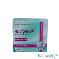 Analgin-BP sol. inj. 500 mg/ml 2 ml N10 (Balkan)