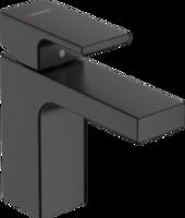Vernis Shape Baterie lavoar 100 cu ventil pop-up, negru mat