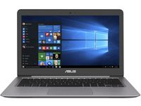 """NB ASUS 13.3"""" Zenbook UX310UA Grey (Core i3-7100U 4Gb 128Gb+500Gb Win 10) 13.3"""" Full HD (1920x1080) Non-glare, Intel Core i3-7100U (2x Core, 2.4GHz, 3Mb), 4Gb (OnBoard) PC4-17000, 128Gb SATA + 500Gb 5400rpm, Intel HD Graphics, HDMI, 802.11ac, Bluetooth, 1x USB 3.1 Type C, 1x USB 3.0, 2x USB 2.0, Card Reader, HD Webcam, Windows 10 Home RU, 3-cell 48 WHrs Polymer Battery, Illuminated Keyboard, 1.4kg, Quartz Grey"""