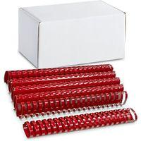 ARGO Пружина пластиковая ARGO A4/45мм, 50 штук, овал красная