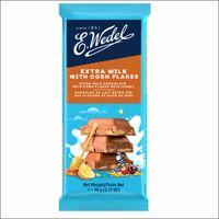 Молочный шоколад Wedel with cornflakes, 90г