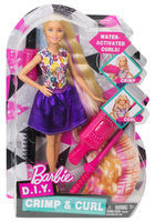 Barbie Crimps&Curls Doll (DWK49)