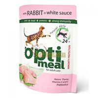 Optimeal «Защита иммунитета» Корм для кошек с кроликом в белом соусе - 85 г