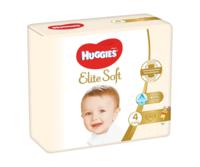Подгузники Huggies Elite Soft Jumbo 4 (8-14 kg), 33 buc.