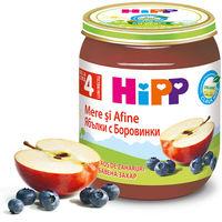 Piure de mere și afine Hipp (4+ luni), 125g