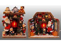 """купить Сувенир рождественский с подсветкой """"У камина"""" в Кишинёве"""