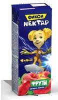 Фрути нектар Яблоко-Персик 0,2л (Фиксики)