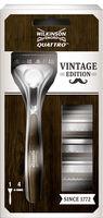 Бритва для мужчин Wilkinson Sword Quattro Titanium Vintage Edition, 4 лезвия