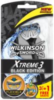 Бритвы для мужчин Xtreme3 Black Edition, 3+1 шт, 3 лезвия