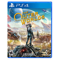 Gamedisc The Outer Worlds Sony Playstation 4