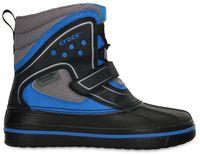Kids' AllCast Waterproof Duck Boot (juniors') Black / Ocean