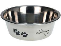 Миска для собак 1.75l D21cm, H7cm, нержавеющая сталь