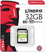 cumpără Kingston 32GB SDHC Canvas Select Class10 UHS-I, 400x, Up to: 80MB/s în Chișinău
