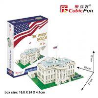 CubicFun 3D пазл Белый дом Вашингтон, 65 деталей