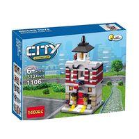 Decool конструктор Mini Modular City 313 дет.