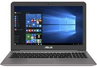 """NB ASUS 15.6"""" Zenbook UX510UX (Core i7-7500U 8Gb 256Gb Win 10) 15.6"""" Full HD (1920x1080) Non-glare, Intel Core i7-7500U (2x Core, 2.7GHz - 3.5GHz, 4Mb), 8Gb (Onboard) PC4-17000, 256Gb M.2, GeForce GTX 950M 2Gb, HDMI, 802.11ac, Bluetooth, 1x USB 3.1 Type C, 1x USB 3.0, 2x USB 2.0, Card Reader, HD Webcam, Windows 10 Home, 3-cell 48 WHrs Polymer Battery, Illuminated Keyboard, 2.0kg, Gray Metal, Bag, Mouse"""