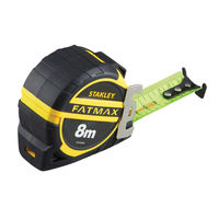 Рулетка Stanley FATMAX Pro II 8м