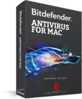BITDEFENDER Antivirus for Mac 1 year 1 user, черный