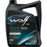 Масло моторное WOLF, 5W30 OFTECH MS-F 5L