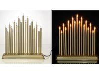 Канделябр настольный 17 свечей